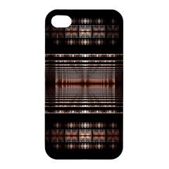 Fractal Fractal Art Design Geometry Apple Iphone 4/4s Hardshell Case by Celenk