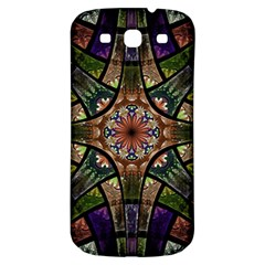 Fractal Detail Elements Pattern Samsung Galaxy S3 S Iii Classic Hardshell Back Case by Celenk