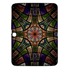 Fractal Detail Elements Pattern Samsung Galaxy Tab 3 (10 1 ) P5200 Hardshell Case  by Celenk