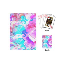 Background Art Abstract Watercolor Playing Cards (mini)  by Celenk