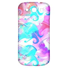Background Art Abstract Watercolor Samsung Galaxy S3 S Iii Classic Hardshell Back Case by Celenk