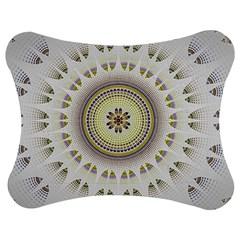Mandala Fractal Decorative Jigsaw Puzzle Photo Stand (bow)
