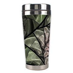 Fractal Flowers Floral Fractal Art Stainless Steel Travel Tumblers by Celenk
