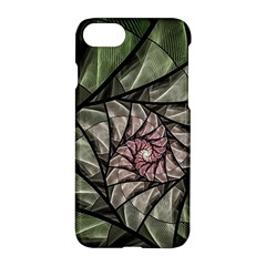Fractal Flowers Floral Fractal Art Apple Iphone 7 Hardshell Case by Celenk