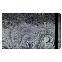 Abstract Art Decoration Design Apple Ipad 2 Flip Case