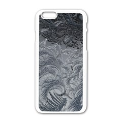 Abstract Art Decoration Design Apple Iphone 6/6s White Enamel Case by Celenk