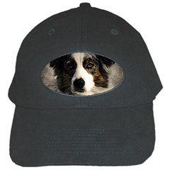 Dog Pet Art Abstract Vintage Black Cap by Celenk