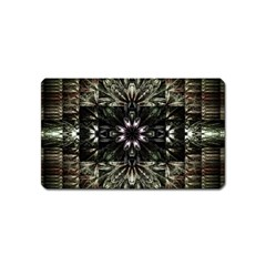 Fractal Design Pattern Texture Magnet (name Card) by Celenk
