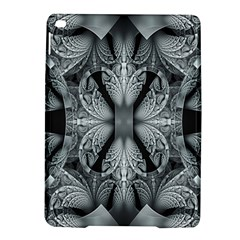 Fractal Blue Lace Texture Pattern Ipad Air 2 Hardshell Cases by Celenk