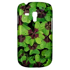 Luck Klee Lucky Clover Vierblattrig Galaxy S3 Mini by Celenk