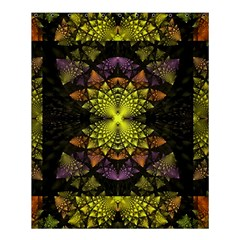 Fractal Multi Color Geometry Shower Curtain 60  X 72  (medium)  by Celenk