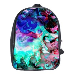 Background Art Abstract Watercolor School Bag (xl) by Celenk