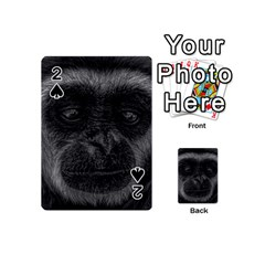 Gibbon Wildlife Indonesia Mammal Playing Cards 54 (mini)  by Celenk