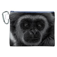 Gibbon Wildlife Indonesia Mammal Canvas Cosmetic Bag (xxl) by Celenk