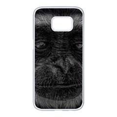 Gibbon Wildlife Indonesia Mammal Samsung Galaxy S7 Edge White Seamless Case by Celenk