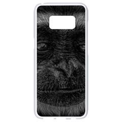 Gibbon Wildlife Indonesia Mammal Samsung Galaxy S8 White Seamless Case by Celenk