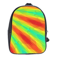 Graphic Kaleidoscope Geometric School Bag (large) by Celenk
