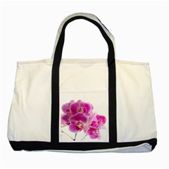 Orchid Phaleonopsis Art Plant Two Tone Tote Bag by Celenk