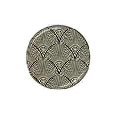 Art Nouveau Hat Clip Ball Marker (4 Pack) by 8fugoso