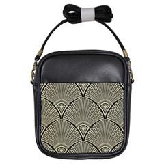 Art Nouveau Girls Sling Bags by 8fugoso