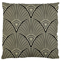 Art Nouveau Large Flano Cushion Case (one Side) by 8fugoso