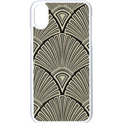 Art Nouveau Apple Iphone X Seamless Case (white) by 8fugoso