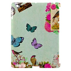 Whimsical Shabby Chic Collage Apple Ipad 3/4 Hardshell Case (compatible With Smart Cover) by 8fugoso