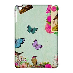 Whimsical Shabby Chic Collage Apple Ipad Mini Hardshell Case (compatible With Smart Cover) by 8fugoso