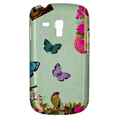 Whimsical Shabby Chic Collage Galaxy S3 Mini by 8fugoso