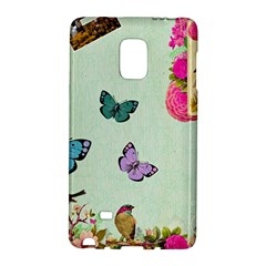 Whimsical Shabby Chic Collage Galaxy Note Edge by 8fugoso