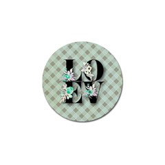 Rustic Love Golf Ball Marker (4 Pack) by 8fugoso