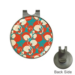 Floral Asian Vintage Pattern Hat Clips With Golf Markers by 8fugoso