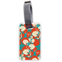 Floral Asian Vintage Pattern Luggage Tags (two Sides) by 8fugoso
