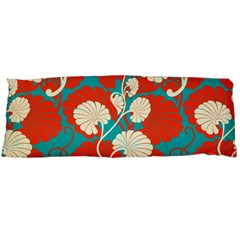 Floral Asian Vintage Pattern Body Pillow Case (dakimakura) by 8fugoso