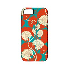 Floral Asian Vintage Pattern Apple Iphone 5 Classic Hardshell Case (pc+silicone) by 8fugoso