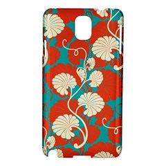 Floral Asian Vintage Pattern Samsung Galaxy Note 3 N9005 Hardshell Case by 8fugoso
