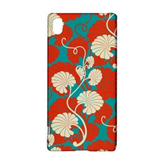 Floral Asian Vintage Pattern Sony Xperia Z3+ by 8fugoso