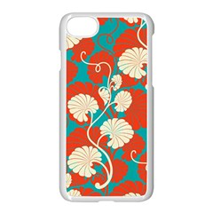 Floral Asian Vintage Pattern Apple Iphone 8 Seamless Case (white) by 8fugoso