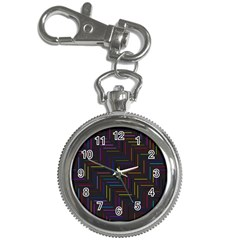 Lines Line Background Key Chain Watches by Celenk
