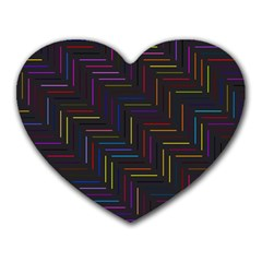 Lines Line Background Heart Mousepads by Celenk
