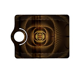 Fractal Copper Amber Abstract Kindle Fire Hd (2013) Flip 360 Case by Celenk