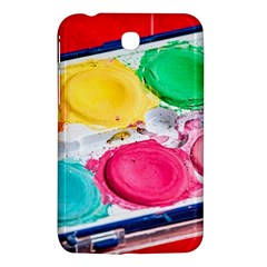 Palette Brush Paint Box Color Samsung Galaxy Tab 3 (7 ) P3200 Hardshell Case  by Celenk