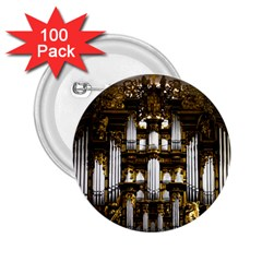 Organ Church Music Organ Whistle 2 25  Buttons (100 Pack)  by Celenk
