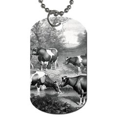 Holstein Fresian Cows Fresian Cows Dog Tag (two Sides) by Celenk