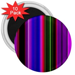 Abstract Background Pattern Textile 4 3  Magnets (10 Pack)  by Celenk
