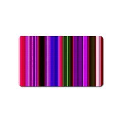 Abstract Background Pattern Textile 4 Magnet (name Card) by Celenk