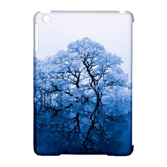 Nature Inspiration Trees Blue Apple Ipad Mini Hardshell Case (compatible With Smart Cover) by Celenk