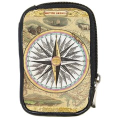 Map Vintage Nautical Collage Compact Camera Cases by Celenk
