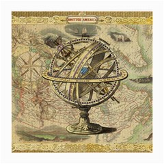 Map Compass Nautical Vintage Medium Glasses Cloth by Celenk