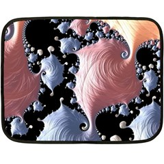 Fractal Art Design Fantasy Science Double Sided Fleece Blanket (mini)  by Celenk
